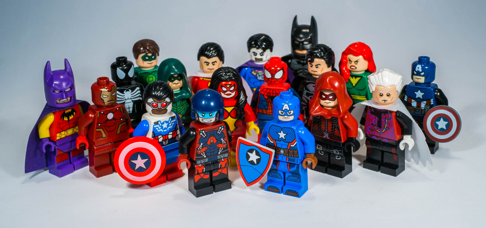 Lego SDCC / Toy Fair Exclusive Minifigures Collection