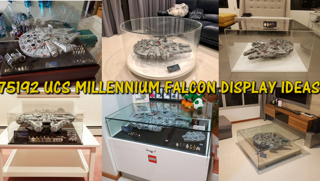 Display ideas for LEGO 75192 - UCS Millennium Falcon - Candidbricks