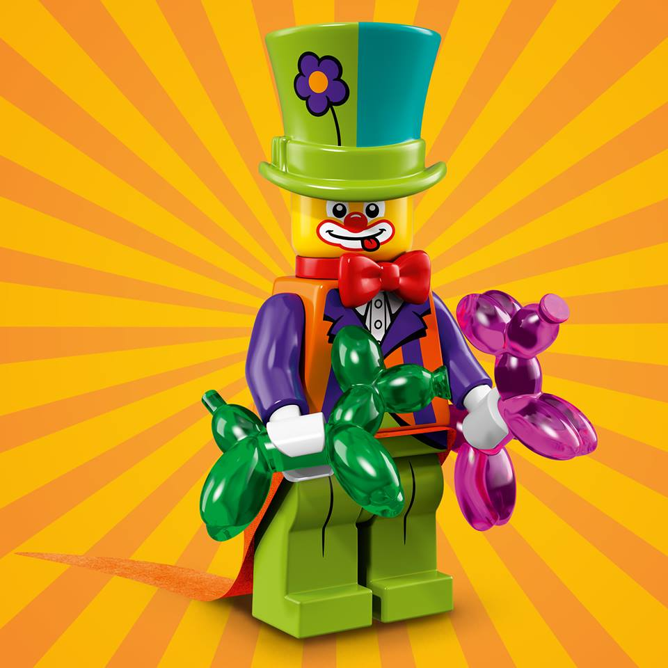 With his hat full of balloons and fun, the Party Clown is here to be the wacky and whimsical life of the party!