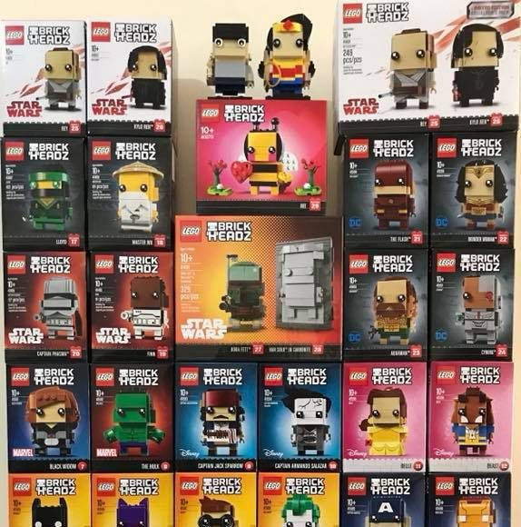 Full LEGO Brickheadz collection list - Candidbricks