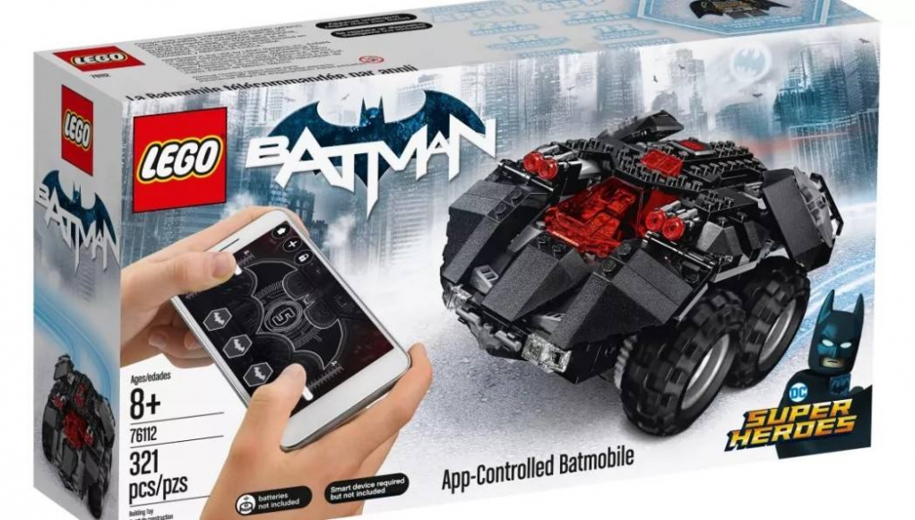 App Controlled Batmobile LEGO
