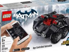 App Controlled Batmobile LEGO