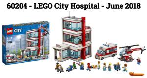60204 LEGO City Hospital