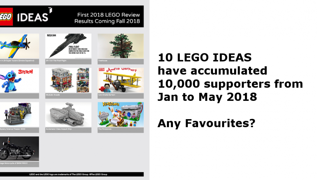 LEGO IDEAS candidates list for the first review of 2018   Candidbricks