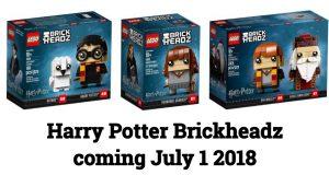 LEGO goes big with HARRY POTTER BRICKHEADZ