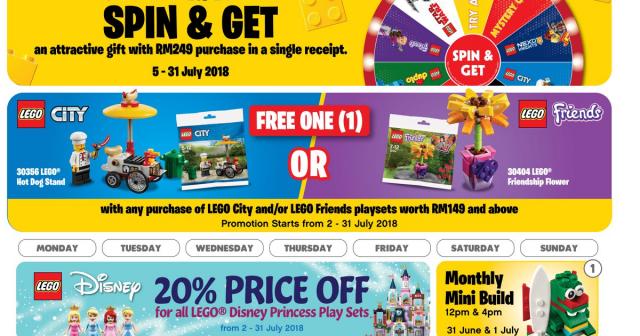 Malaysia LCS Store July Calendar