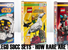 LEGO SDCC EXLUSIVES 2018 rairity-collection