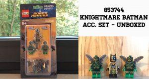 853744 Knightmare Batman Accessories Set