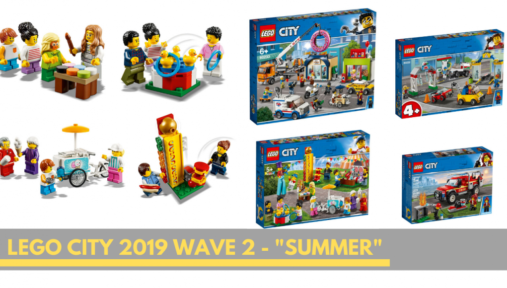 LEGO City Summer Wave 2019