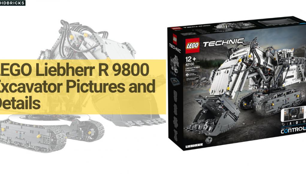 Liebherr LEGO R 9800