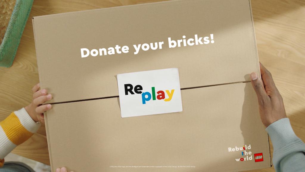 LEGO REPLAY - DONATE YOUR BRICKS