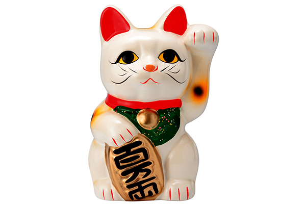 A-Maneki-Neko-or-fortune-lucky-cat