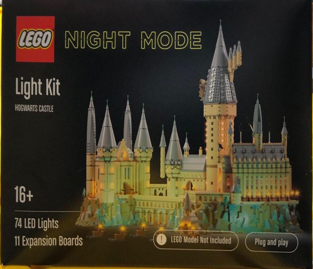 LEGO NIGHT MODE Hogwarts Castle
