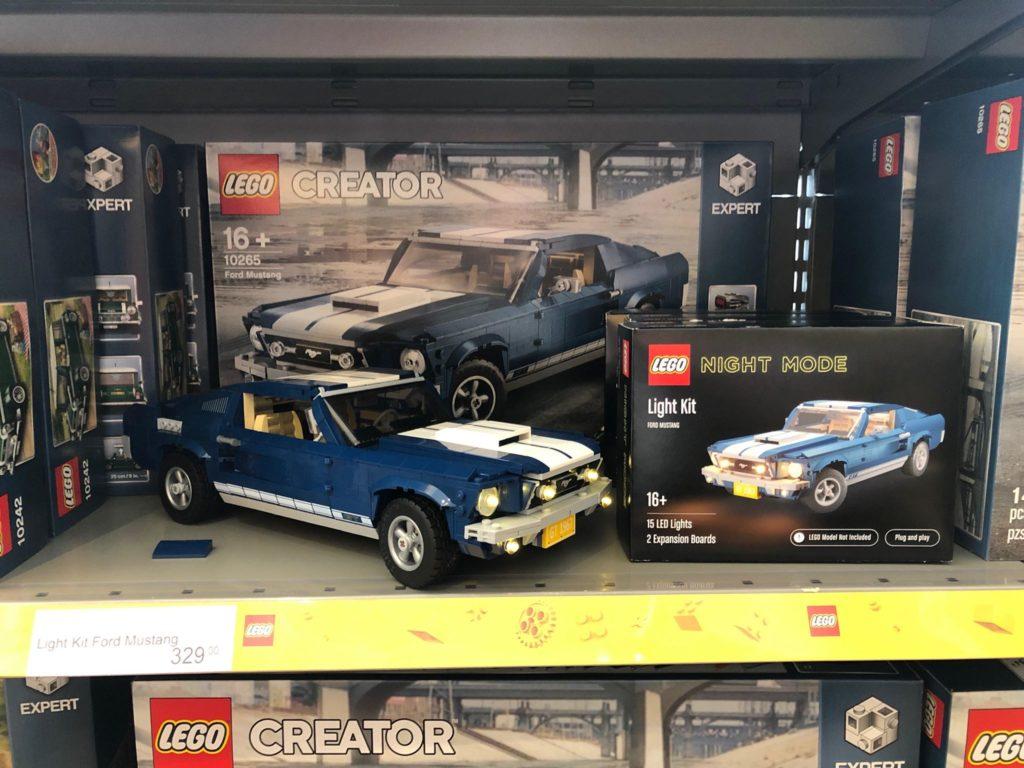 LEGO NIGHT MODE Mustang