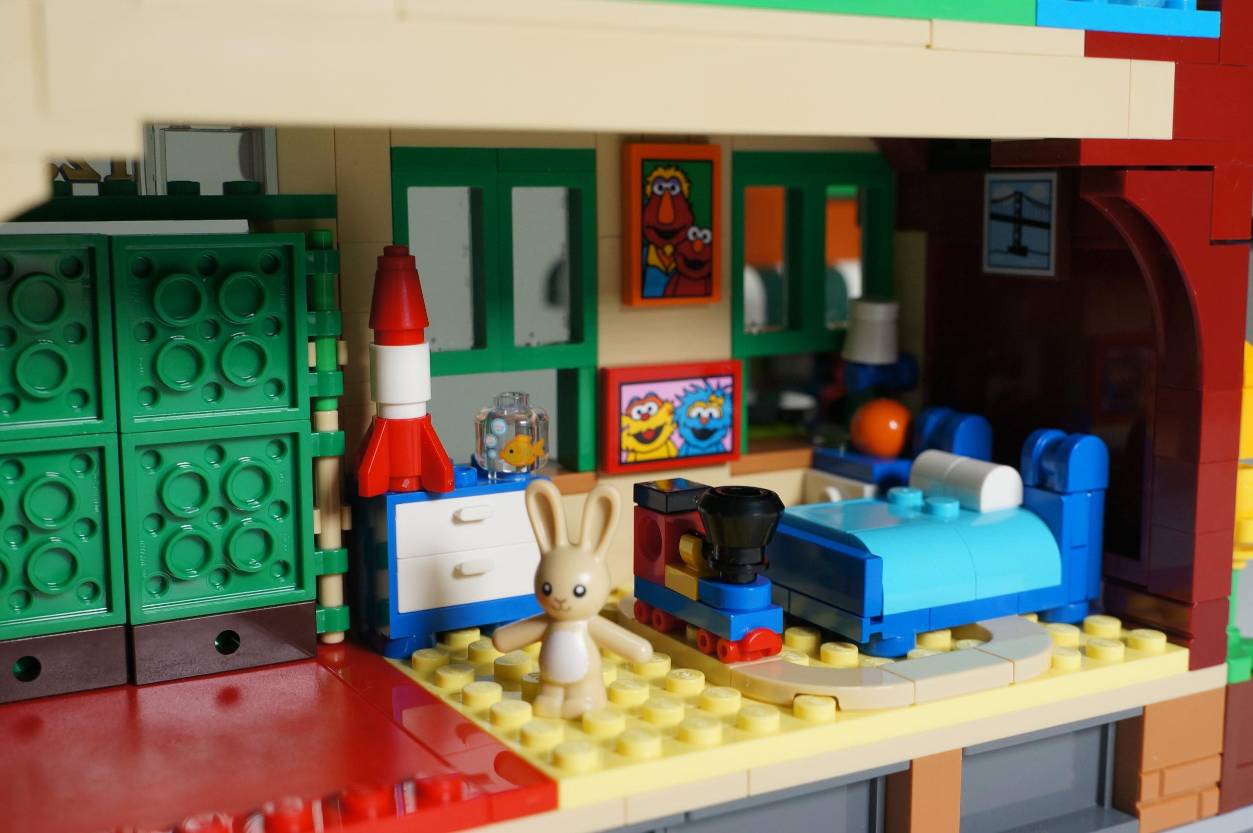 Elmo room empty
