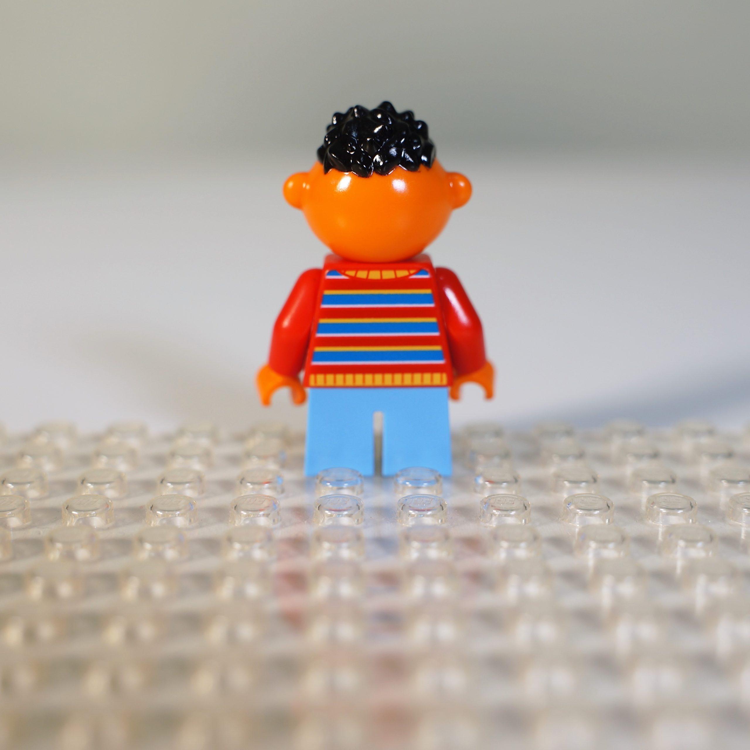 Minifig Ernie Back