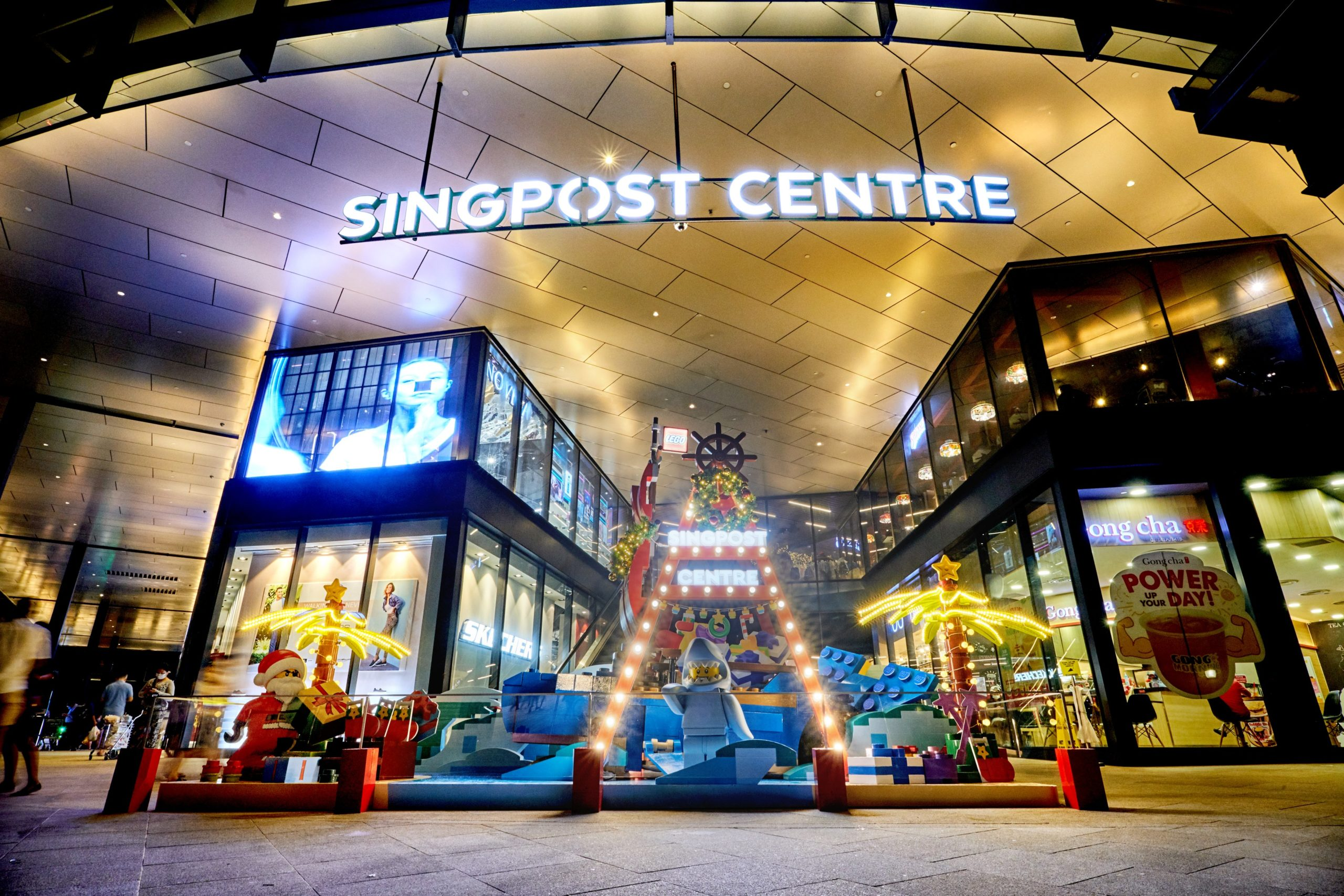 Installation at SingPost Centre_